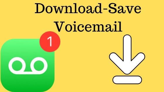 Download and Save Voicemail on iPhone