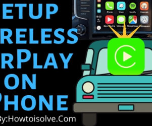 How to Setup Wireless Carplay on your iPhone