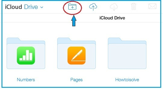 How to create folder on iCloud drive online on MacBook pro, iMac, MacBook Air