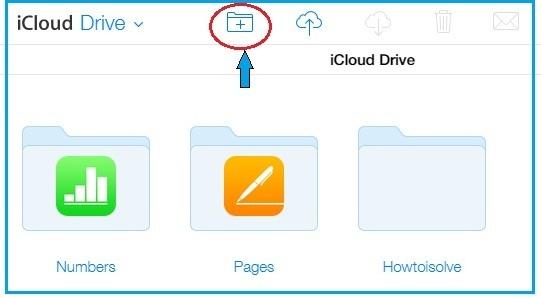 How to create folder on iCloud drive online on MacBook pro, iMac, MacBook Air