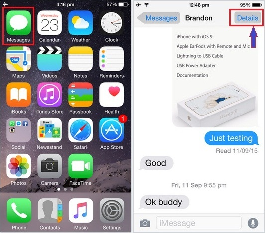 best tip to How to send location in iMessage on iPhone 6S, 6S plus: iOS 9