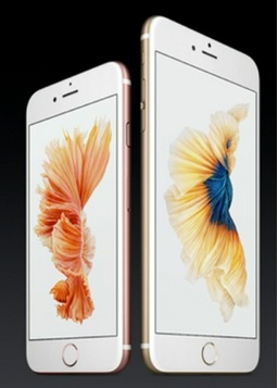 iPhone 6S and iPhone 6S plus by apple