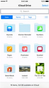 How to make folder in iCloud drive app on iPhone: iOS 9