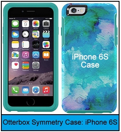 cute Otterbox Symmetry Series case for iPhone 6