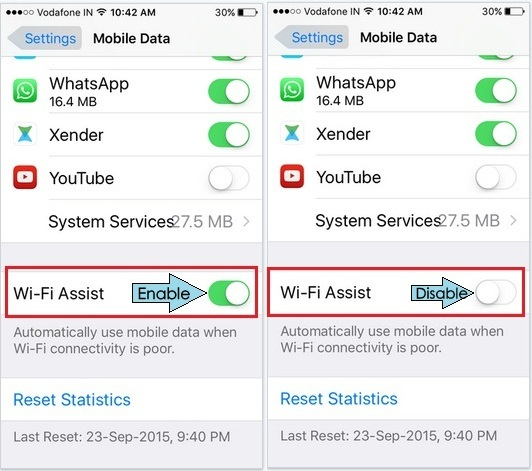 iphone 4s wifi wont turn on turn wi fi assist with ios 9 iphone 6s 6s in 8522