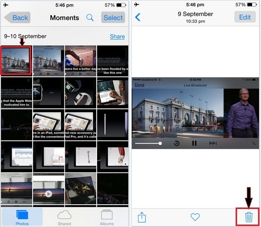 how to recover deleted photo in iOS 9