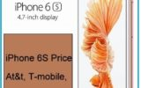 best iPhone 6S Price At&t, T-mobile, Verizon, Sprint
