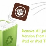 How to remove jailbreak from iPhone, iPad