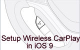 How to enable or turn on wireless CarPlay on iPhone 6S, 6S plus in iOS 9