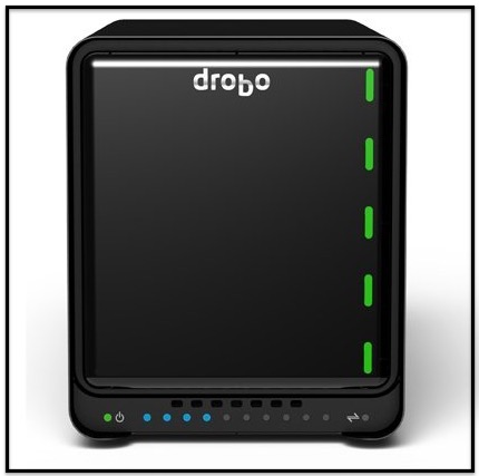 1 Drobo Network Attached Storage for Home
