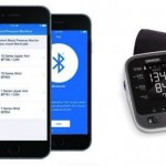 Accurate iPhone controlled Blood pressure monitor Device