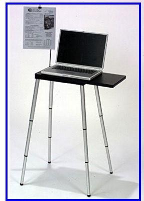 Hight adjust MacBook stand