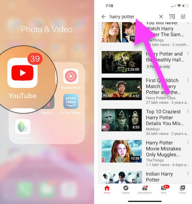 Create a Playlist on YouTube App