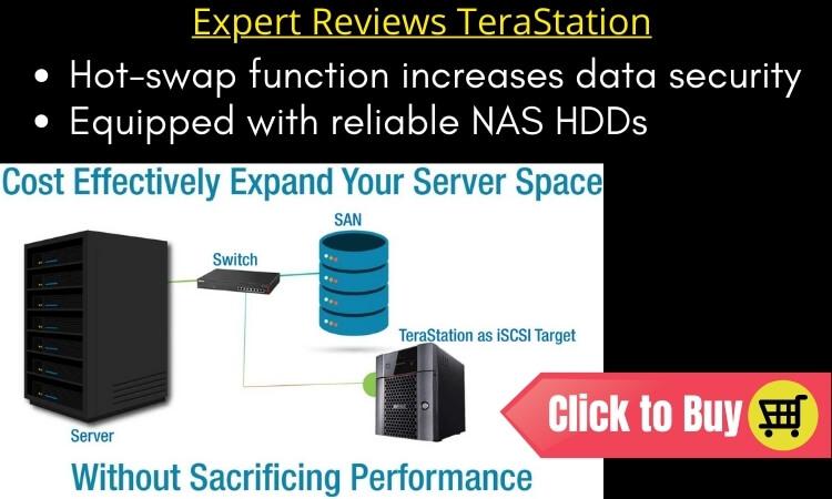 Expert Reviews TeraStation