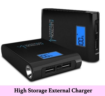 Portable external Battery charger for iPhone