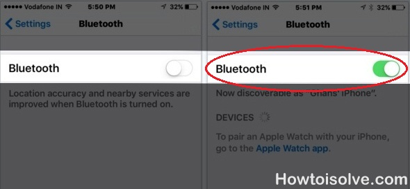 Six Advices To Fix Bluetooth Not Working In IOS 10/ 9