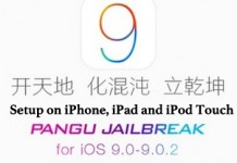 iOS 9 Jailbreak using Pangu on iPhone, iPad and iPod Touch