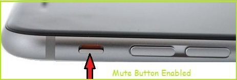 Mute camera sound on photo click on iPhone 6S or 6S Plus