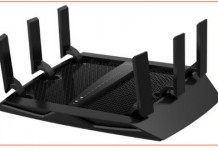 High speed and large distance cover router