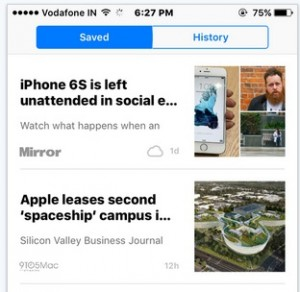 How to Save/ bookmark news story in Apple news app: iPhone