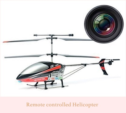 Remotely controlled drone for gift