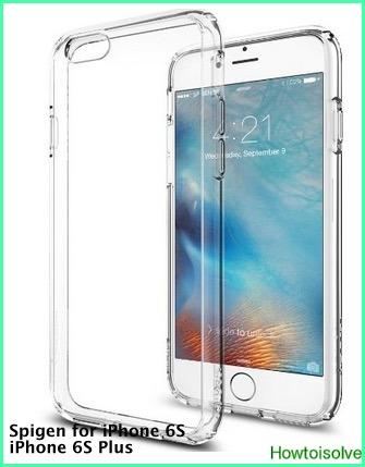 Watermark iPhone 6S case by spigen