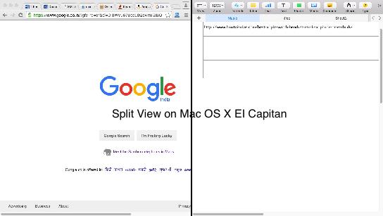 Split View on Mac
