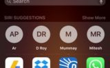 Enable Siri Suggestion in iOS 9