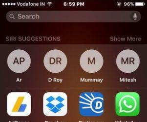 Enable Siri Suggestion in iOS 9