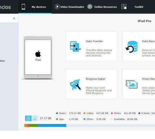 SynciOS alternative of Apple iTunes for iOS