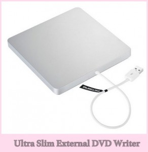 Best external DVD Writer for MacBook Pro, Air: 2018 slim