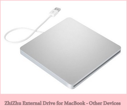 ZhiZhu External DVD Writer for MacBook