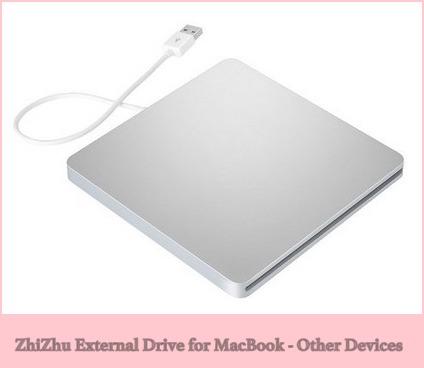 ZhiZhu External DVD Writer for MacBook