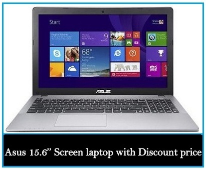 Asus 15.6'' Screen laptop Black Friday laptops deal 2017 on Discount price in USA and UK