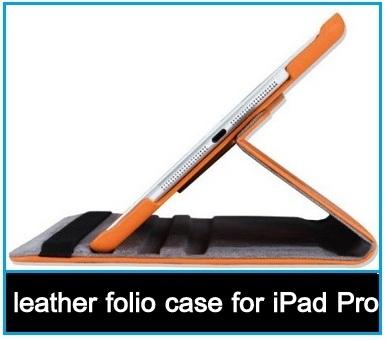 best leather folio case for iPad Pro 2015