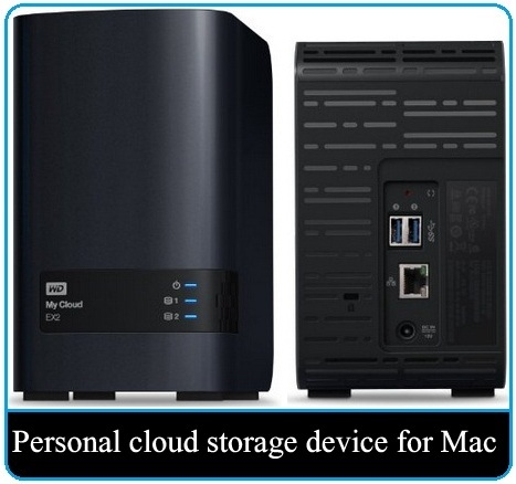 Wd My Cloud Ex2 8 Tb Best Nas For Mac 2017 Personal Storage