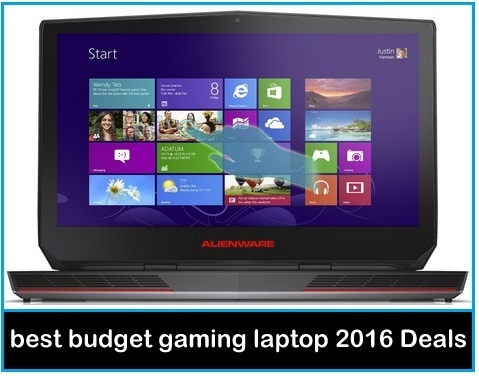 Alienware gaming laptop 2016 best budget gaming laptop under 1500 dollars USA
