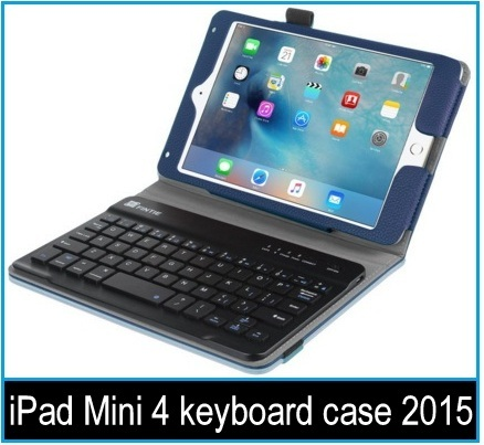 apple iPad Mini 4 keyboard case 2015