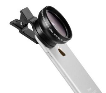iPhone lens portable