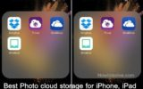 free unlimited online storage iPhoen apps to best Photo cloud storage for iPhone