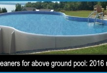 Excellent collection of Best Vacuums for above ground pool: 2016 reviews