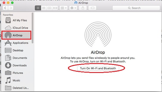 AirDrop not working in iOS 9 to Mac OS X Yosemite or OS X EI Capitan