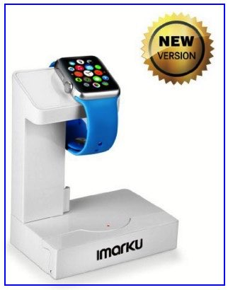 Apple Watch power bank with stand