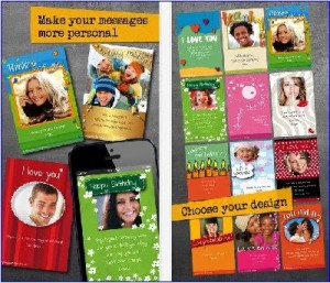Christmas greeting card maker apps for iPhone and iPad
