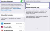 Enable or Disable location service in iPhone and iPad