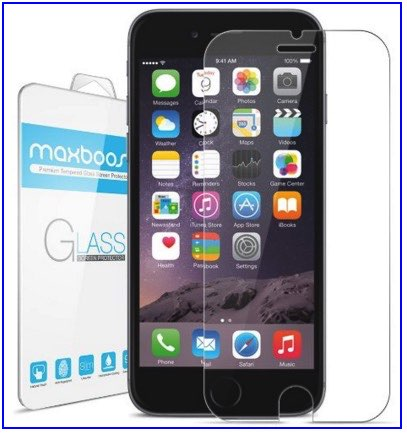 Best tempered screen protector iPhone 6 by MaxBoost