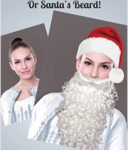 Santa claus effect photo on iPhone, iPad, iPod Touch