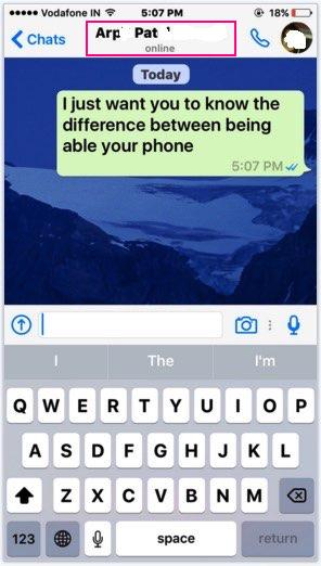 change Whatsapp tone on iPhone, iPad iOS device
