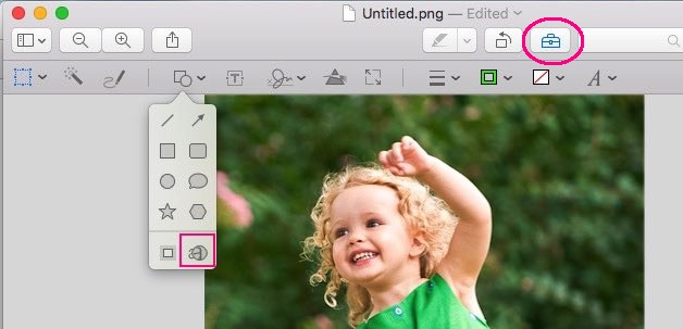 How to magnify image on Mac OS X EI Capitan and Yosemite