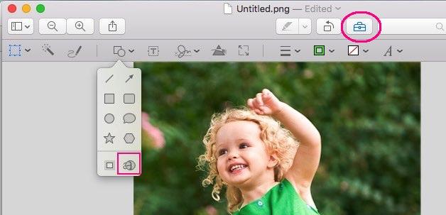 How to magnify image on Mac OS X EI Capitan and Yosemite
